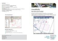 novaRoSy - MOSS Computer Grafik Systeme GmbH