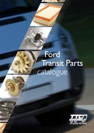 Ford Transit Parts catalogue