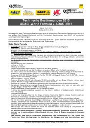 04_TECHN. BESTIMMUNGEN CS_ADAC -World Formula RK1 ...