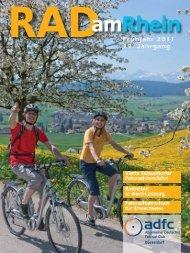 Radreisekatalog 2011 - beim ADFC