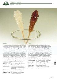 Zucker + Süßes Sugar + sweets - Mount Everest Tea Company GmbH