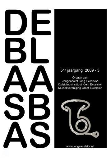 51e jaargang 2009 - 3 - Jeugdorkest Jong Excelsior