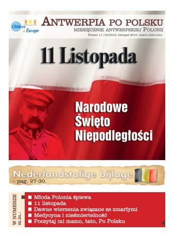 nr 19-listopad 2012 - Antwerpia po polsku