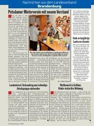 Potsdamer Mieterverein mit neuem Vorstand - Mieterbund Land ...