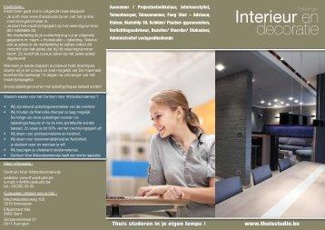 Interieur opleidingen - Zelfstudie of thuisstudie - start dezelfde dag ...