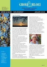 BLOEI GROEI - Groningen - Groei & Bloei