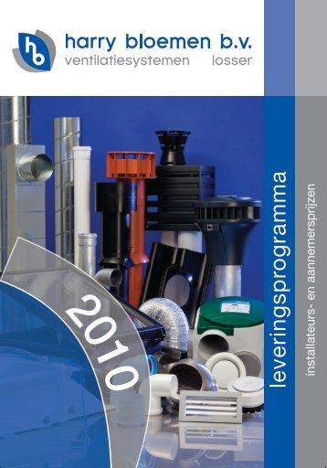 Klik hier voor ons productboek - Harry Bloemen BV