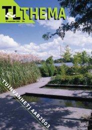 T&L Thema 'Tuin van het jaar 2003' 20a/2003 - Tuin & Landschap