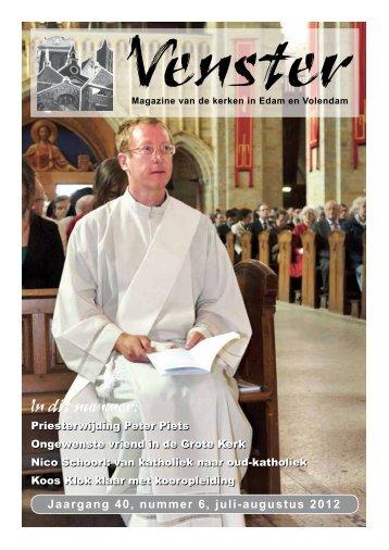 Jaargang 40, nummer 6, juli-augustus 2012 - Heilige Nicolaas ...