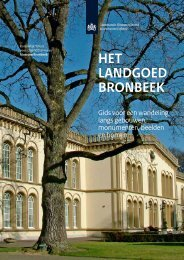 Brochure Landgoed Bronbeek 2010.pdf - COV Gelderland
