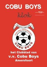 Wedstrijdverslagen - Cobu Boys Amersfoort