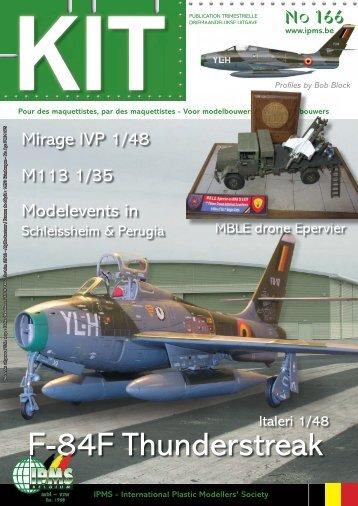 F-84F Thunderstreak - ipms belgium