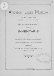 ATJEHSCH LEGER MUSEUM - the Aceh Books website