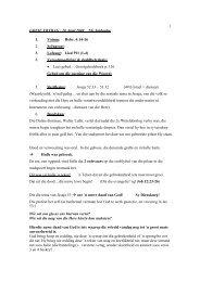 1 GOEIE VRYDAG : 10 April 2009 NG Saldanha 1. Votum: Hebr. 4 ...