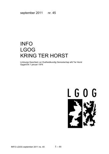 Info lgog no 29 lgog horst for Terrace 45 qc