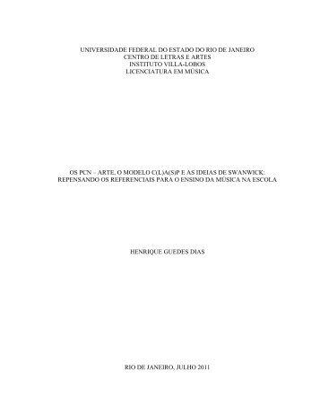 os pcn arte, o modelo c(l)a(s)p e as ideias de swanwick
