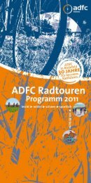 """Die """"Neu-in-der- Stadt""""-Touren - beim ADFC"""