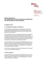 Benutzungsordnung Museumsbibliothek (PDF) - Museum Schloss ...