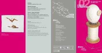 Faltblatt (PDF) - Museum Schloss Moyland