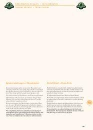 Kräutermischungen + Monokräuter Herbal Blends + Mono herbs
