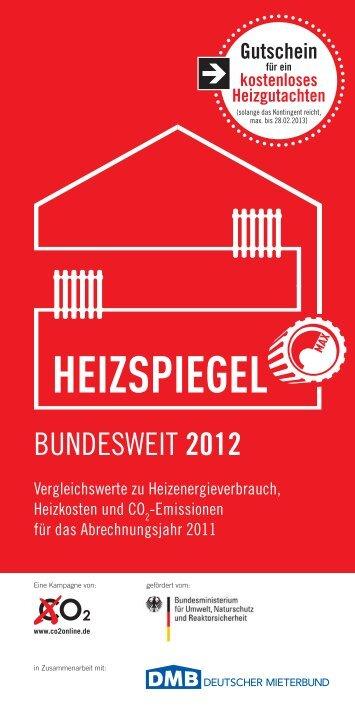Bundesweite Heizspiegel - Mieterverein zu Hamburg