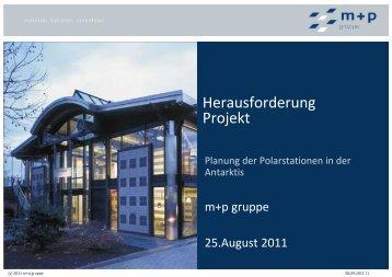 m+p präsentation Polarstation Duisburg - m+p gruppe