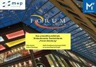 Forum Duisburg - m+p gruppe