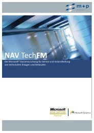 NAV TechFM Flyer PDF - m+p gruppe
