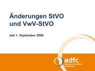 Stvo und Vwv-Stvo - ADFC Regensburg