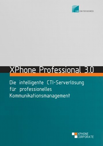 XPhone Professional 3.0 - MR Compact GmbH