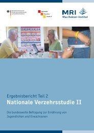 zweiten Bericht - Max Rubner-Institut