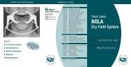 Nola Dry Field Brochure - Great Lakes Orthodontics