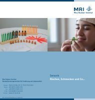 MRI-Flyer-Sensorik-IGW12 web - Max Rubner-Institut - Bund.de