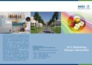 090908 MRI Flyer UV-C - Max Rubner-Institut - Bund.de