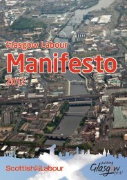 glasgow-labour-manifesto
