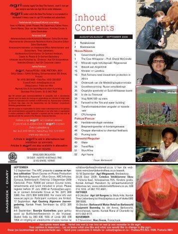 Agri AUG SEPT 09.indd - Agri SA