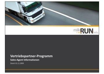 Vertriebspartner-Programm - milkRUN.info