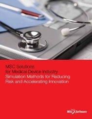 Medical Brochure - MSC Software