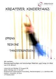 5($7,9(5 .,1'(57$1 - Musikschule Friedrichshain-Kreuzberg