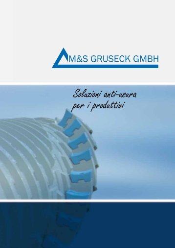 Soluzioni anti-usura per i produttivi - M&S Gruseck