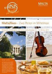 Flyer als PDF herunterladen (0,5 MB) - Malta Sun Island Services