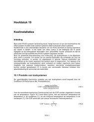 Hoofdstuk 19 Koelinstallaties