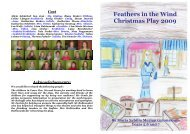 Feathers in the Wind Christmas Play 2009 - Maria-Sibylla-Merian ...