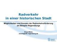 Regensburg liegt gar schön … (JW von Goethe ... - ADFC Regensburg