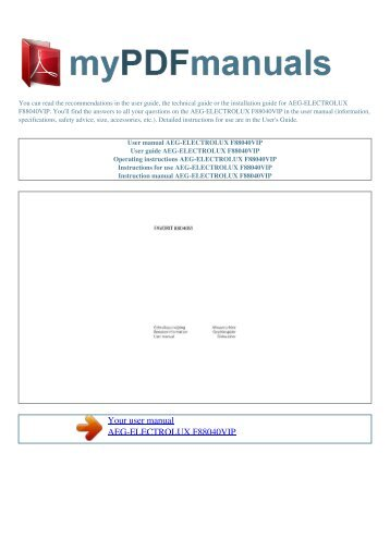 user manual marantz 1090 my pdf manuals rh yumpu com Instruction Manual Book Manuals in PDF
