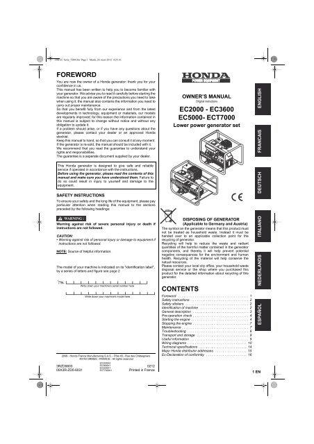 5 x Qté 180 mm x 25 mm danger Hot échappement Imprimé Autocollant
