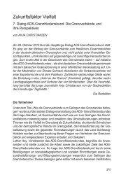 7. Dialog - ADS-Grenzfriedensbund eV, Arbeitsgemeinschaft ...