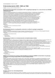 Onderzoeksprojecten (5550 - 5600 van 7502)