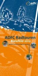 ADFC Radtouren Bielefeld 2012 - beim ADFC