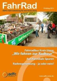 """Fahrradbus Kreis Unna: """"Wir Fahren Zur Radtour"""" - beim ADFC"""